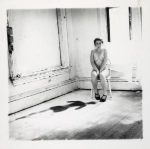 Providence, Rhode Island, 1976 1976 Francesca Woodman 1958-1981 ARTIST ROOMS Acquired jointly with the National Galleries of Scotland through The d'Offay Donation with assistance from the National Heritage Memorial Fund and the Art Fund 2008 http://www.tate.org.uk/art/work/AR00352