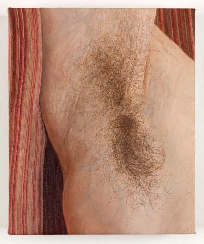 Ellen Altfest: Armpit (detail), 2011