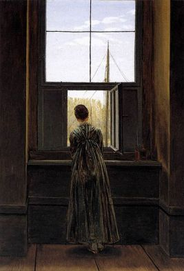 406px-Caspar_David_Friedrich_-_Woman_at_a_Window_-_WGA8268