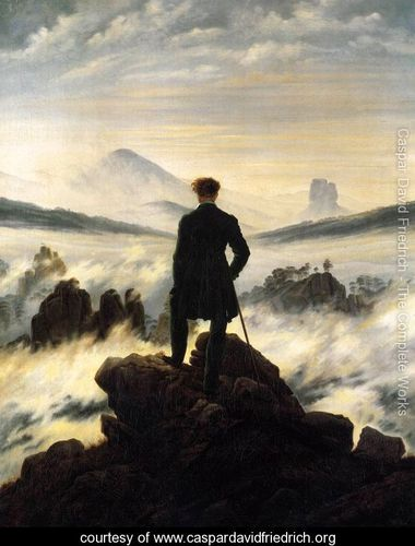The wanderer above the Mists 1817